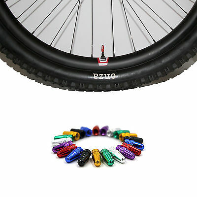 2PCS Bike Bicycle MTB Presta Wheel Rim Tyre Stem Air Valve Cap Dust Cover