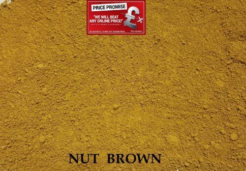 NUT BROWN  Dye//Pigment for Concrete Mortar /& Cement Render