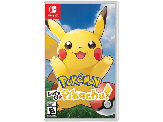 Pokemon Let's Go, Pikachu! - Nintendo Switch