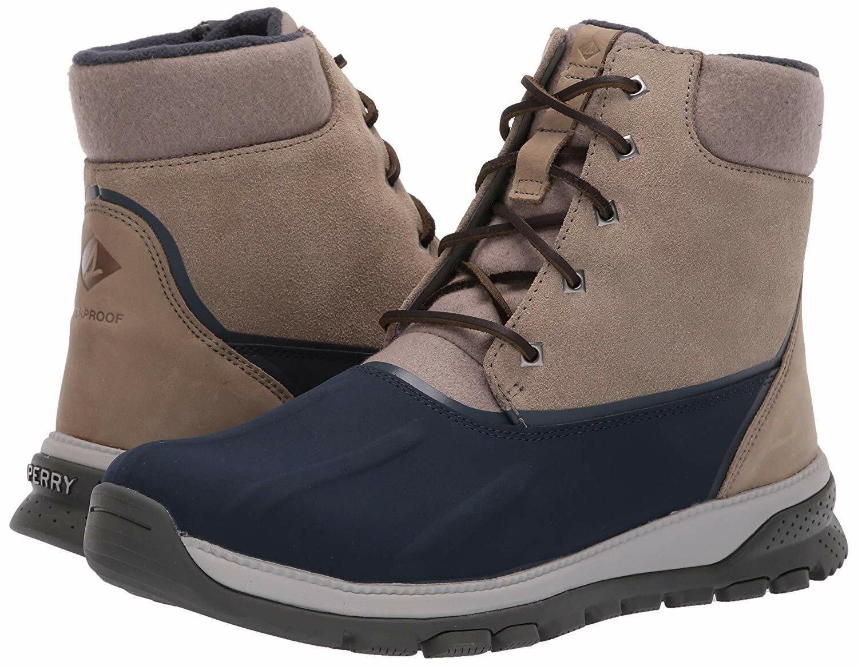Sperry Hombre Nuevo Seamount Pato botas Impermeable Chukka botas De Gamuza