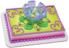 TINKERBELL CAKE Cupcake Party Birthday Decoration Peter Pan Supplies Kit Fairies