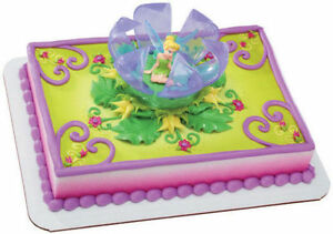 Awesome Tinkerbell Cake Cupcake Party Birthday Decoration Peter Pan Personalised Birthday Cards Paralily Jamesorg