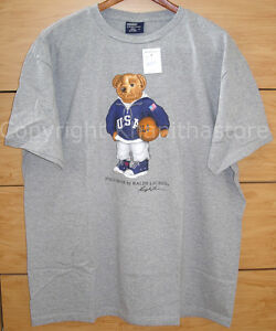 nieuw Lauren met Polo shirt Large T label Ralph Bear maat OSxgU4X