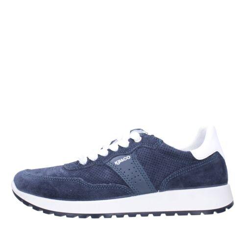 Igi&co Sneakers Camoscio Uomo Jeans 5127511