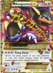 Mega kangourex ex holo 230pv 109 106 secrete neuf carte - Carte pokemon electhor ex ...
