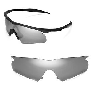 5466925e48 Image is loading New-Walleva-Polarized-Titanium-Replacement-Lenses-For- Oakley-