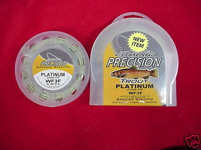 Cortle Fly Line Precision Trout WF8F GREAT nuovo