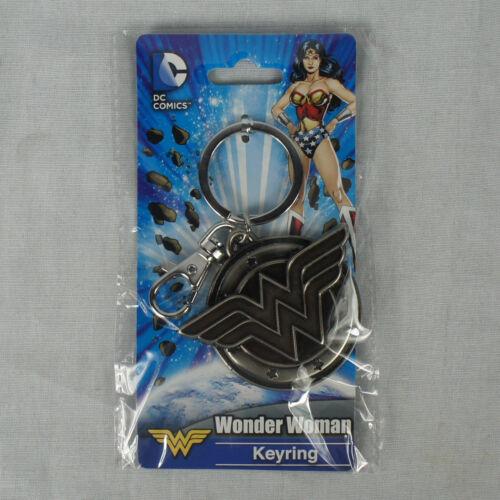 Authentic DC Comics WONDER WOMAN Hero Logo Key ring Key chain NEW