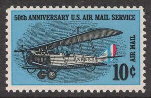 Scott-C74-Curtiss-Jenny-50th-Anniversary-Of-Aire-Mail-MNH-10c-1968-Mint