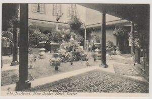 Devon postcard - The Courtyard, New London Hotel, Exeter (A2090)