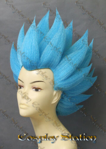 Vegeta Blue Custom Made Cosplay Wig/_commission871