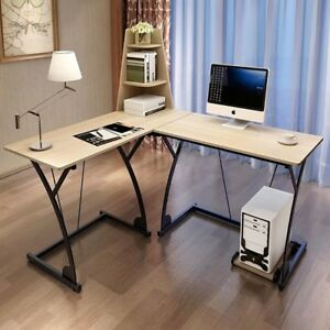 Image Is Loading L Shaped Desk Computer Multifunctional Table