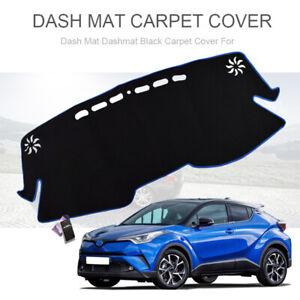 Xukey-Dashmat-Dash-Mat-Dashboard-Cover-For-Toyota-CHR-C-HR-Blue-Edge-2016-2019