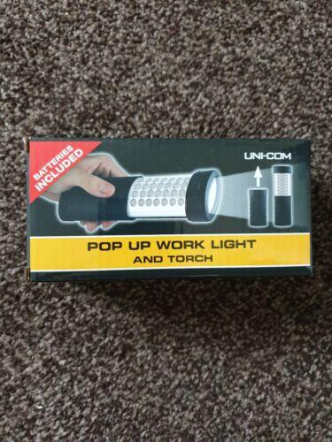 Pop Up work Light And Torch