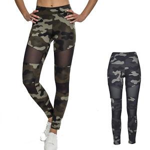 Urban-Classics-Camo-Tech-Mesh-Leggings-Leggins-Camouflage-Tarn-Sport-Army-Yoga