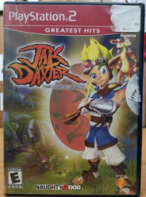 Jak and Daxter the Precursor Legacy (Playstation 2, ps2, 2001, Sony) E
