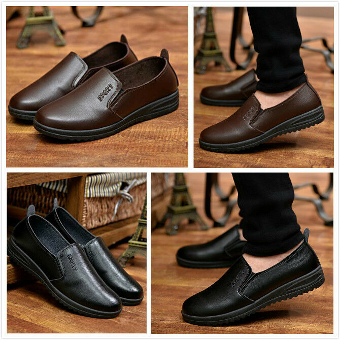 New  Business Fashion New Men 's Business  Shoes Casual Leather Shoes Comfortable Leather f8e693