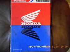Werkstatthandbuch Honda RVF / RC45 (R)
