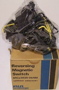FUJI-ELECTRIC-SRCa3938-06RM-REVERSING-MAGNETIC-SWITCH-MADE-in-JAPAN