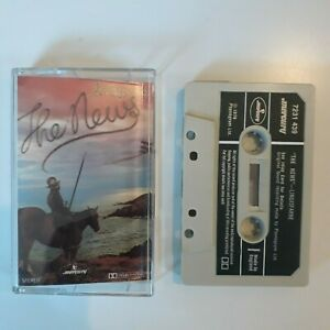 LINDISFARNE-THE-NEWS-CASSETTE-TAPE-1979-GREEN-PAPER-LABEL-MERCURY-UK