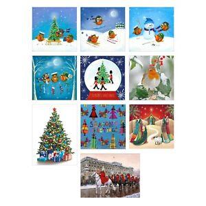 SSAFA-Charity-Christmas-Cards-in-Various-Designs-of-Packs-MultiBuy-Offer