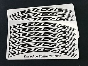 stickers for 24-30mm rim Celeste or White Bianchi wheel decals