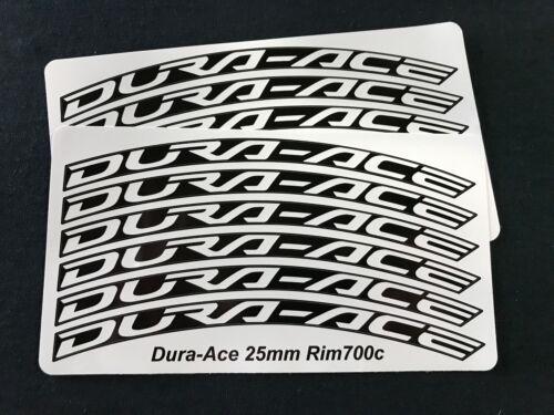 Aufkleber Rad für Shimano 25mm Felgen 30mm ace Dura BTwRqtxfW