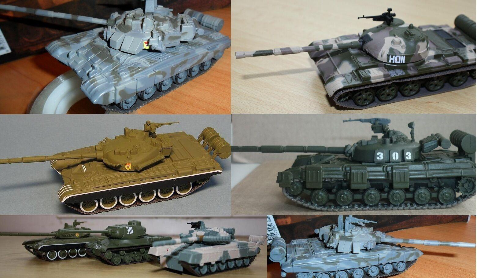 1 72 Soviet tank véhicule militaire Diecast modèle par choix de 1 à 110