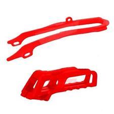 CHAIN Guide / SLIDER Kit HONDA CRF250 14-17 CRF450 13-16 CR RED MOTOCROSS ENDURO