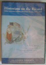 Historians on Record: Gilder Lehrman Institute Historian's Forums 1999 - 2000