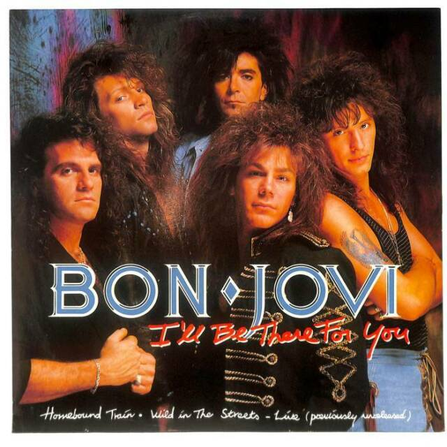 """Bon Jovi - I'll Be There For You - 12"""" Vinyl Record Single"""