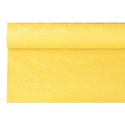 Rational Papiertischdecke Gelb, 6 Meter X 120 Cm Rolle Günstige Partytischdecke