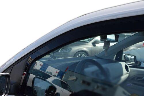 5 portes 2012-prés Deflecteurs d/'air Déflecteurs de vent 2pcs VW Up