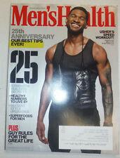 Men's Health Magazine Usher & The 25th Anniversary November 2013 020415R