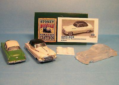 SMC-609 1950 Buick Roadmaster Sedan  1//87th-HO Scale Clear Resin unfinished