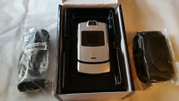 Brand Unused Silver Us Cellular Motorola V3m Razr Verified Us Cell Esn
