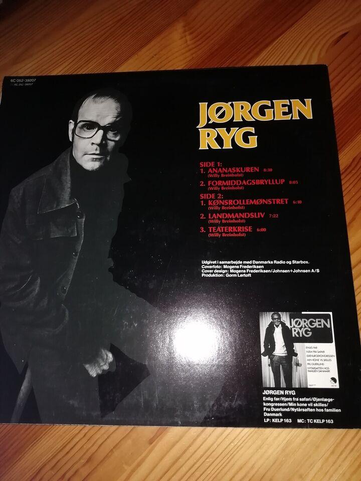 Jørgen ryg monolog sur