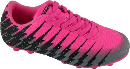 93369* Pink//Black//Silver Youth Vizari Kids Bolt FG Soccer Cleats