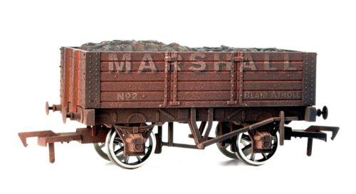 DAPOL 4f-052-002 ouvert wagons 5 plank 9ft wheelbase Marshall piste 00