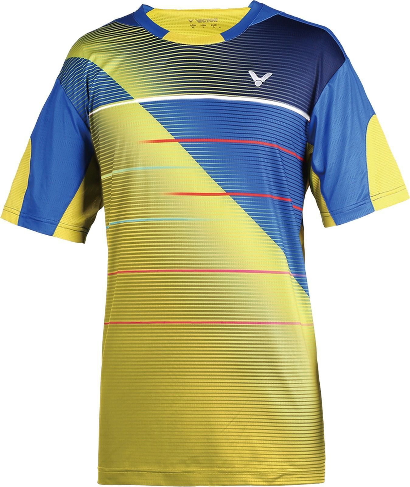 Victor Camiseta COREA Unisex Gelb 6196 NACIONAL fibra funcional Cuello