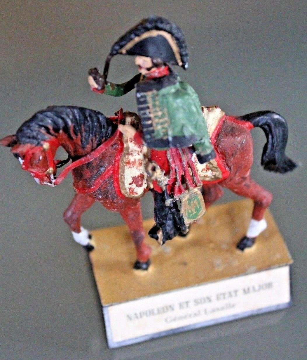 Soldat Blei Almirall Napoleon und Sound Zustand Major Lasalle zu Pferd Années 70