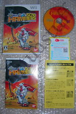 SD GUNDAM SCAD HAMMERS, Nintendo, WII, WII U, NTSC, JAP, completo, very good con