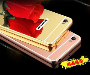 finest selection 6a976 7be36 Details about Hot Sale Aluminum Metal Mirror Case + PC Back Cover For  Lenovo Vibe K5 Plus 5.0