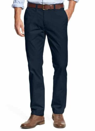 NWT Tommy Hilfiger Men/'s Tailored Fit Chino Pants Masters Navy Variety of Sizes