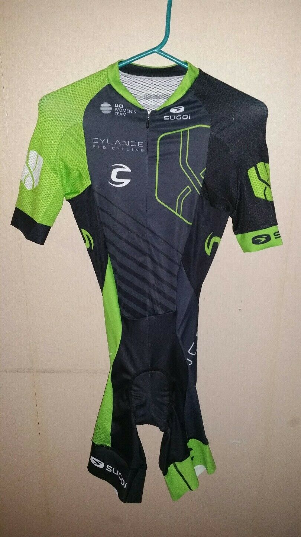 Skinsuit Cylance speedsuit cycling zeitfahranzug radtrikot xs team team team issued rare 73206f