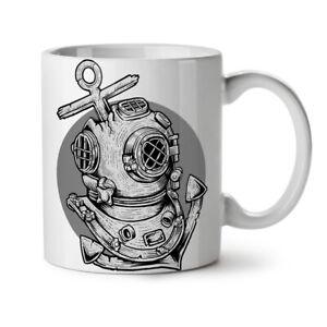 Deep Sea Anchor Fashion NEW White Tea Coffee Mug 11 oz   Wellcoda