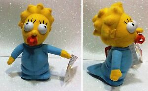 THE SIMPSONS MAGGIE SIMPSON PELUCHE 20 CM UNITED