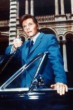 Jack Lord As Det. Steve Mcgarrett Hawaii Five-O 11x17 Poster Blue Suit & Car