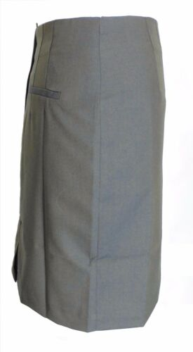 Relco Ladies Retro Rude Girl Tonic Green//Gold Pencil Skirt