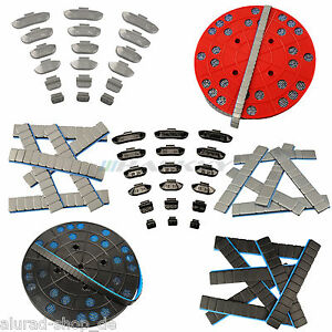 Klebegewichte-Schlaggewichte-Auswuchtgewichte-Stahlfelgen-Alufelgen-Auswahl